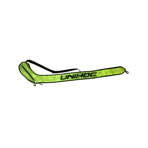 Florbalový vak UNIHOC Single cover LIME Line senior