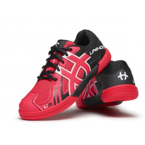 Florbalová obuv UNIHOC U3 Junior red / black